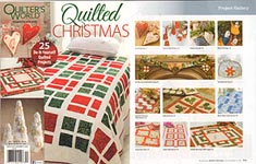 Quilter's World QUILTED Christmas 2016
