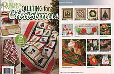 Quilter's World Quilting for Christmas 2017