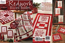 Annie's QUILTED Redwork Blizzard Buddies
