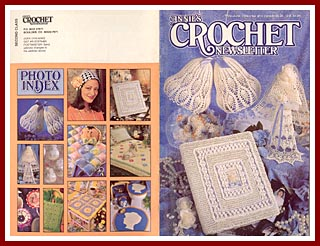 Cover of Annies Crochet Newsletter for May-June 1996.