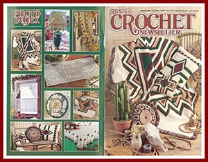 Cover of September - October 1998 issue of Annies Crochet Newsletter