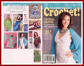 Hooked on Crochet! June2006, featuring my Day At Silver Beach Cookie Cutter Doll