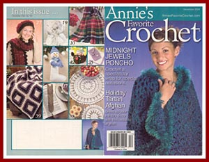 Aunt Irma-s Snow Angel appeared in the Dec 2004 issue of Annies Favorite Crochet