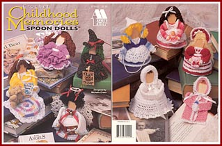 Childhood Memories wooden ice cream spoon dolls