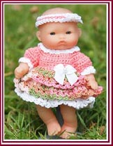 Blossom, the matching 5-inch doll outfit.