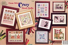 Cross-Stitch Crazy About Quilts