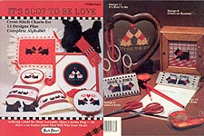 Its Scot to Be Love Scotty dog counted cross-stitch designs