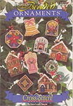 Counted Cross Stitch Beaded Ornaments