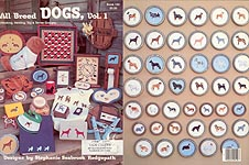 All Breed Dogs, Vol. 1 counted cross-stitch designs