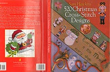 Sam Hawkins' 520 Christams Cross- Stitch Designs