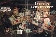 Leisure Arts Presents Christmas Remembered Book Five: Holidays Remembered