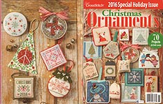 Just Cross Stitch 2016 Special Christmas Issue: Christmas Ornaments