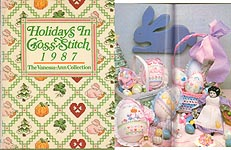 The Vanessa- Ann Collection: Holidays in Cross- Stitch 1987