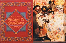 The Vanessa- Ann Collection: Holidays in Cross- Stitch 1993