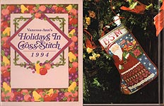 The Vanessa- Ann Collection: Holidays in Cross- Stitch 1994
