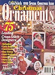 Just Cross Stitch 1998 Special Christmas Issue: Christmas Ornaments