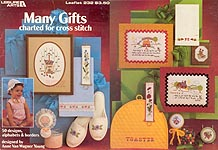 LA Many Gifts Charted for Cross Stitch