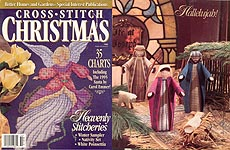 Better Homes and Gardens Cross- Stitch Christmas, 1995