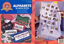 LA Looney Tunes Alphabets in Cross Stitch