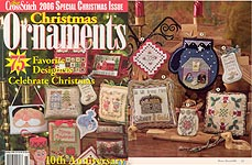 Just Cross Stitch 2006 Special Christmas Issue: Christmas Ornaments