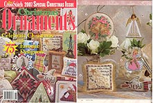 Just Cross Stitch 2007 Special Christmas Issue: Christmas Ornaments