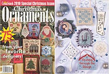 Just Cross Stitch 2010 Special Christmas Issue: Christmas Ornaments