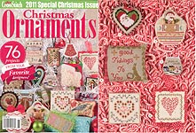 Just Cross Stitch 2011 Special Christmas Issue: Christmas Ornaments
