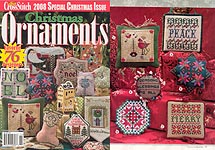 Just Cross Stitch 2008 Special Christmas Issue: Christmas Ornaments