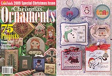 Just Cross Stitch 2009 Special Christmas Issue: Christmas Ornaments
