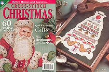 Better Homes and Gardens Cross- Stitch Christmas, 2000
