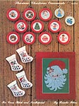 Shariane Christmas Ornaments For Cross Stitch and Needlepoint, Book 1