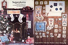 Sugarplums Charted Designs for Needlepoint and Cross Stitch