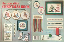 Coats & Clark The Cross Stitch Christmas Book