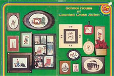 School House of Counted Cross Stitch Book 10