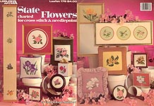 LA State Flowers Charted for Cross Stitch & Needlepoint