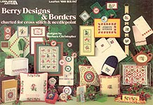 LA Berry Designs & Borders, Charted for Cross Stitch & Needlepoint