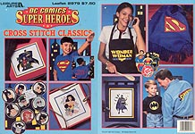 LA DC Comics Superheroes: Cross Stitch Classics