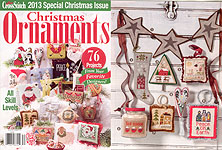 Just Cross Stitch 2013 Special Christmas Issue: Christmas Ornaments