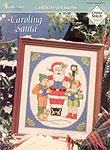 TNS Cross Stitch Collector's Series Caroling Santa