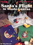 LA Santa's Flight in Waste Canvas