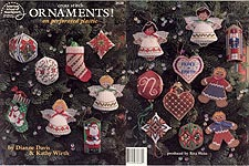 ASN Cross Stitch Ornaments! on Perforated Plastic
