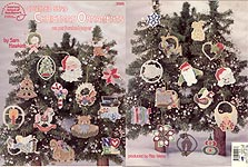 ASN Counted Bead Christmas Ornaments on Perforated Paper