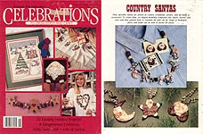 Celebrations to Cross- Stitch and Craft, Christmas 1990