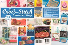 Annie's Easy Cross Stitch Cards & Tags