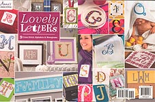 Annie's CROSS STITCH Lovely Letters