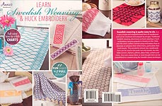 Annie's Learn Swedish Weaving & Huck Embroidery