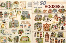 ASN Cross- Stitch 50 Houses