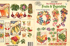 ASN Cross- Stitch The Ultimate Book of Fruts & Vegetables