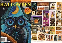 Just Cross Stitch Halloween -- 2015 Special Collector's Issue