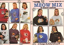 LA Meow Mix in Waste Canvas